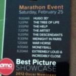 2012 Oscar Marathon