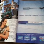 Taylor Kitsch pregnancy test