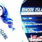 Miss Rhode Island is very talented.