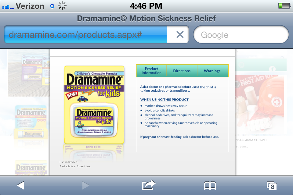 Someone at Dramamine Kids is Asleep at the Wheel » ehilarity com